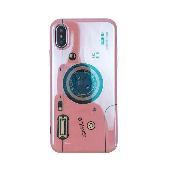 iPhone Cases XR XS XS Max X 8 Plus 7 6 6s (Chic Street Style) Girl's Outfit Accessories, Mobile Phone Protective Covers