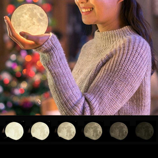 "Moon Lamp /Creative Novelty Night Light Gifts (Moonlight Unique Design) [2.8""]"
