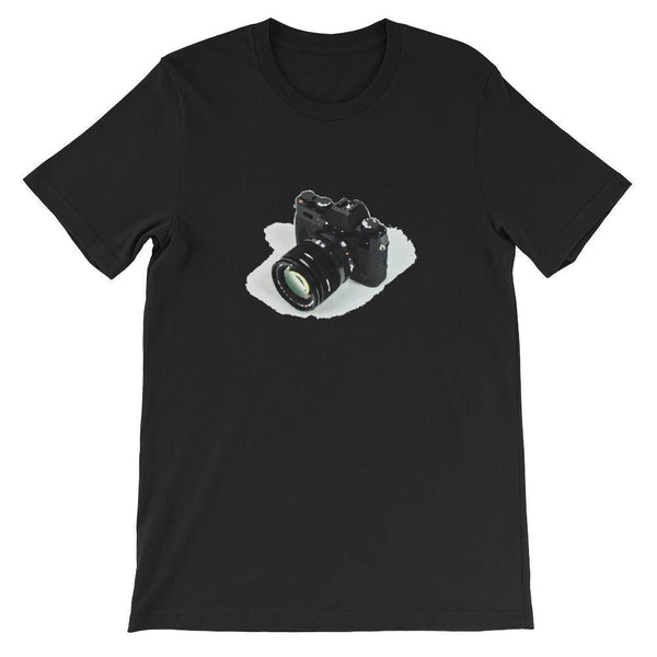 Camera Photography T-Shirt (Summer Smart Casual /Simple Stylish) [White, Black &Color /Men &Women]