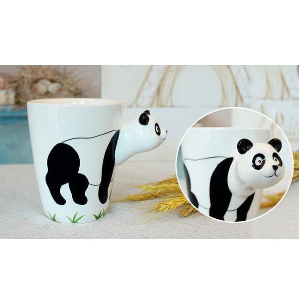 Panda Coffee Mug -Unique Ceramic Tea Cup (Special Gifts, Creative &Novelty)