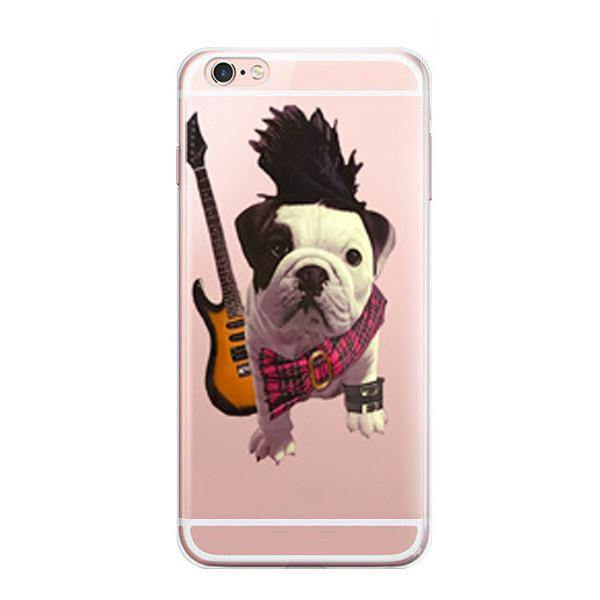 iPhone 7 Case -French Bulldog iPhone7 Cover for Dog Pet Puppy Lovers [Slim /Scratch Drop Protection]