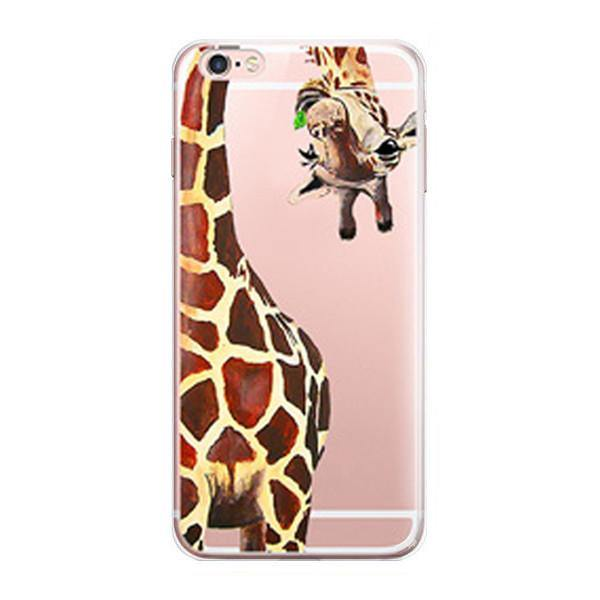 online store c6617 34d65 iPhone 7 Case -Giraffe iPhone7 Cover (Scratch, Shock &Drop Protection)