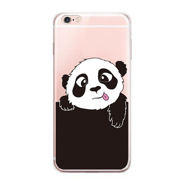 iPhone 7 Case - Panda iPhone7 Cover (Scratch, Shock &Drop Protection)