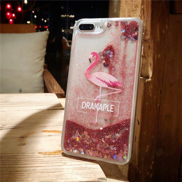 pink iphone cases x 8 plus 7 6s 6 chic fashion outfit sparkle glitter shining bling bling cute pretty style lovely sweet gifts fantasy charmerry a10