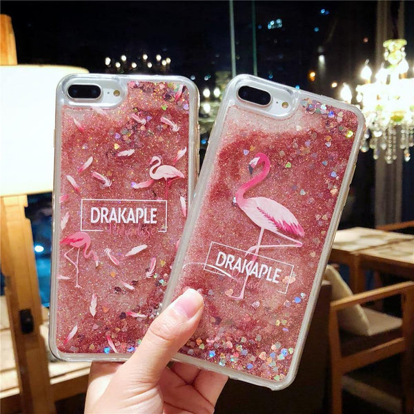 pink iphone cases x 8 plus 7 6s 6 chic fashion outfit sparkle glitter shining bling bling cute pretty style lovely sweet gifts fantasy charmerry a4