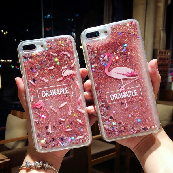 pink iphone cases x 8 plus 7 6s 6 chic fashion outfit sparkle glitter shining bling bling cute pretty style lovely sweet gifts fantasy charmerry a1