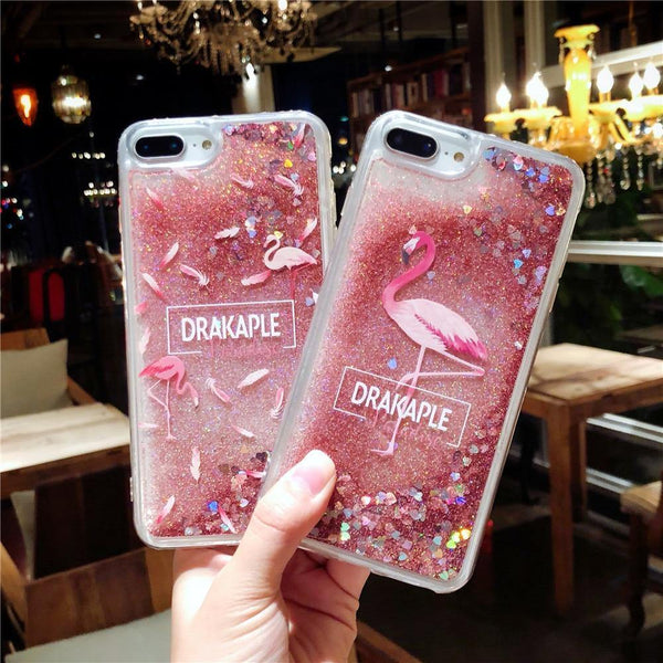 pink iphone cases x 8 plus 7 6s 6 chic fashion outfit sparkle glitter shining bling bling cute pretty style lovely sweet gifts fantasy charmerry a5