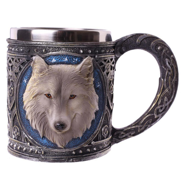 Wolf Coffee Mugs (Luxury Beer Tankard Gifts /Unique Creative Novelty)