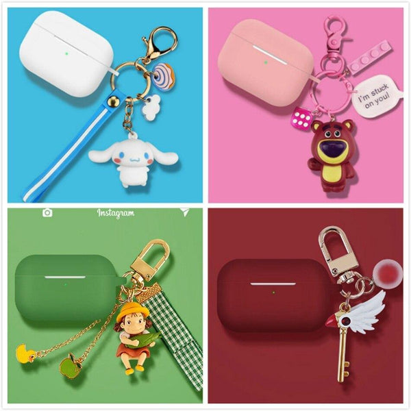 Airpods Pro Case Cover - Airpods Cartoon Keychain Accessories