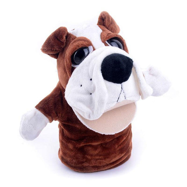 "Dog Hand Puppet (Plush Dog /Animal Stuffed Puppy /Learning Toy Gift)[7.8"" /20cm]"