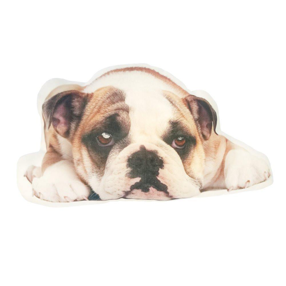 "Bulldog Pillow /Dog Cushion Stuffed Toy (Creative Unique Novelty Gift) [19"" 48cm]"