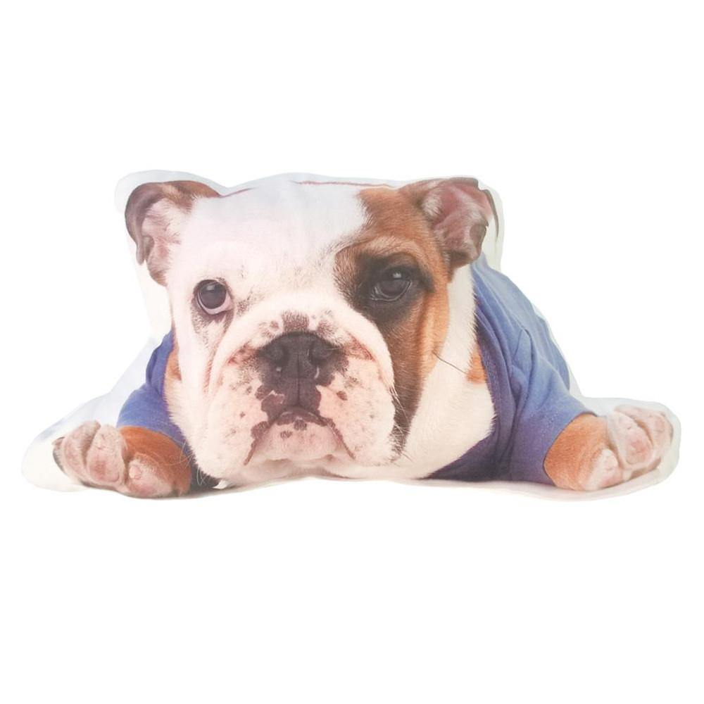 "Bulldog Pillow /Dog Cushion Stuffed Toy (Creative Unique Novelty Gift) [17"" 42cm]"