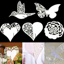 Load image into Gallery viewer, Place Cards /Table Numbers /Wedding Decorations for Engagement Anniversary Bridal Shower (50pcs/set) - CHARMERRY