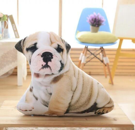 "Dog Pillow /Pet Cushion Stuffed Toy (Creative Unique Novelty Gift) [19.7"" 50cm]"