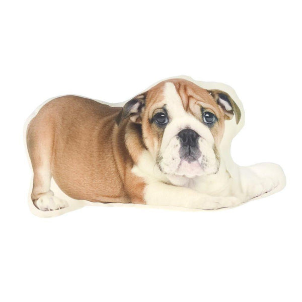 "Bulldog Pillow /Dog Cushion Stuffed Toy (Creative Unique Novelty Gift) [15.4"" 39cm]"