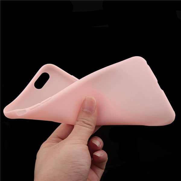 Candy Color Phone Case for Apple iPhone