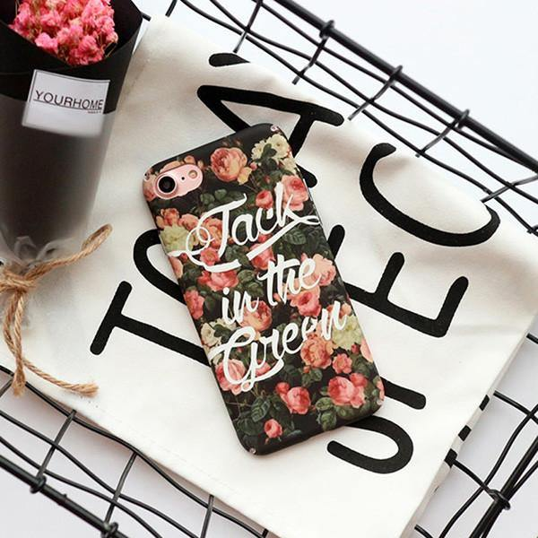Flowery Phone Case For Apple Iphone