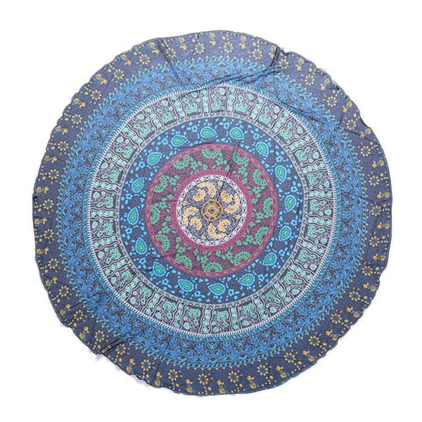 Tablecloths /Yoga Mat /Beach Park Picnic Blanket /Home Decor (Indian Bohemian Boho Gypsy Mandala)