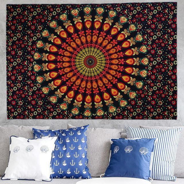 "Wall Hanging /Tablecloth /Bedspread /Picnic Blanket /Beach Throw Cover-Up /Room Home Decor [83""]"