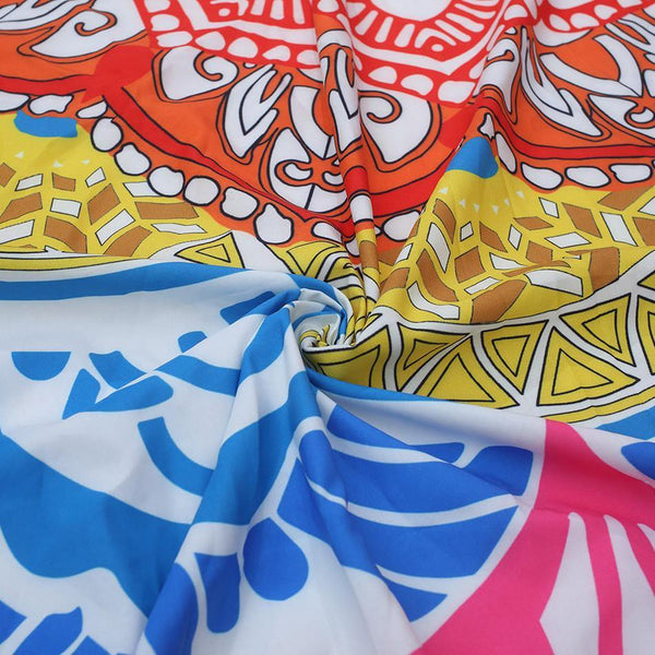 Tablecloths Linens /Beach Swim Towels /Women Shawls Wraps /Home Decor