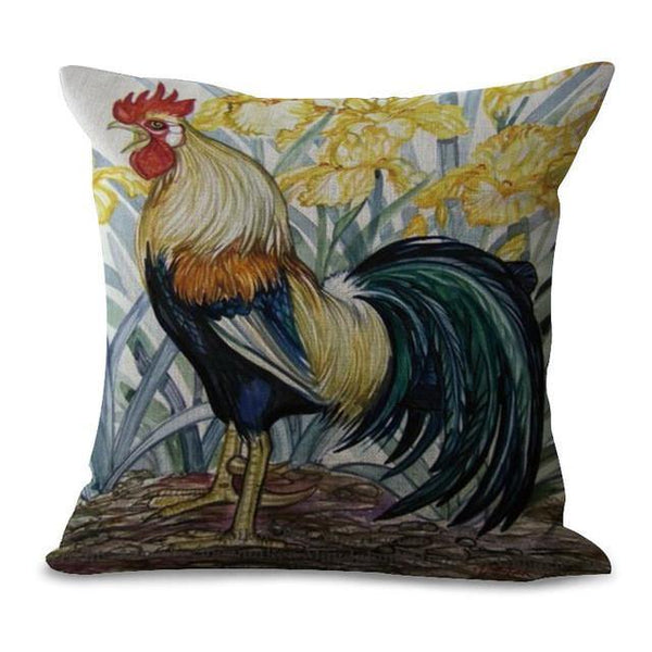 Cook Throw Pillow Cases (Art Cushion Covers /Rooster Year Pillowcases)