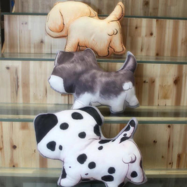 "Dog Throw pillows (Puppy Pet Stuffed Toy Gifts /Creative Funny Novelty) [18""]"