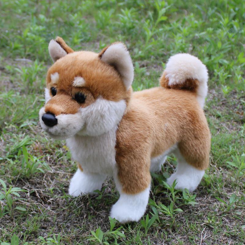 Shiba Inu Dog Stuffed Toys /Pet Plush Figures /Puppy Figurine Gifts)