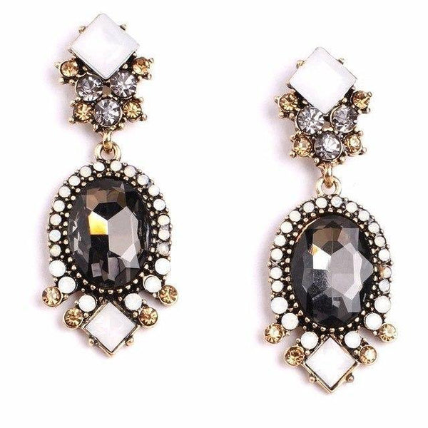 Elegant Zirconia Dangle Drop Earrings