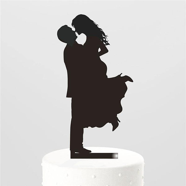 Wedding Cake Topper (Groom Bride /Lift Up /Nose Rub /Love Gaze /Ecstatic)