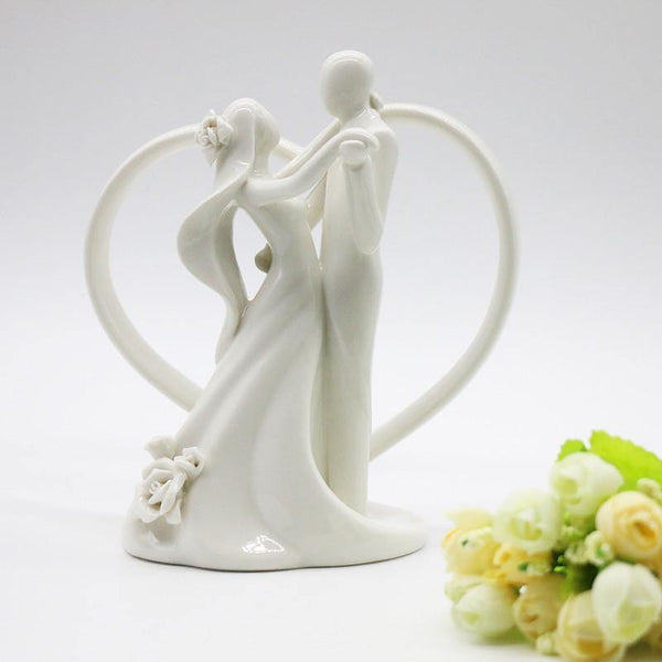 Cake Topper Cake Topper Figure /Figurine (Wedding Dance Waltz /Hugging /Embrace) - Charmerry