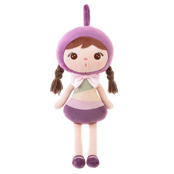 Metoo Angela Girl Plush Dolls Cartoon Stuffed Plush Toys Lovey Girl Sleeping Dolls for Children Birthday Gifts - Charmerry