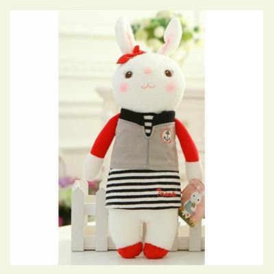 "Rabbit Stuffed Animal /Plush Toy (Gift for Girl Friend /Valentine's Day) [14"" /11 Styles]"