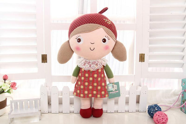 "Stuffed Toy /Soft Plush Toy (Cloth & Rag Doll /Baby Kid & Child Gift) [15.7"" /6 Styles]"