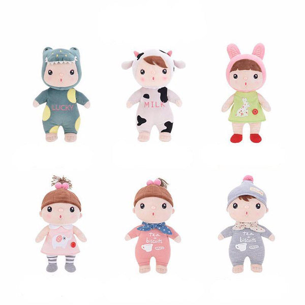 "Stuffed Toy (Sleep Plush Toy /Baby Soft Toy /Cuddly Toy /Kid Doll Gift) [12"" /6 Styles]"