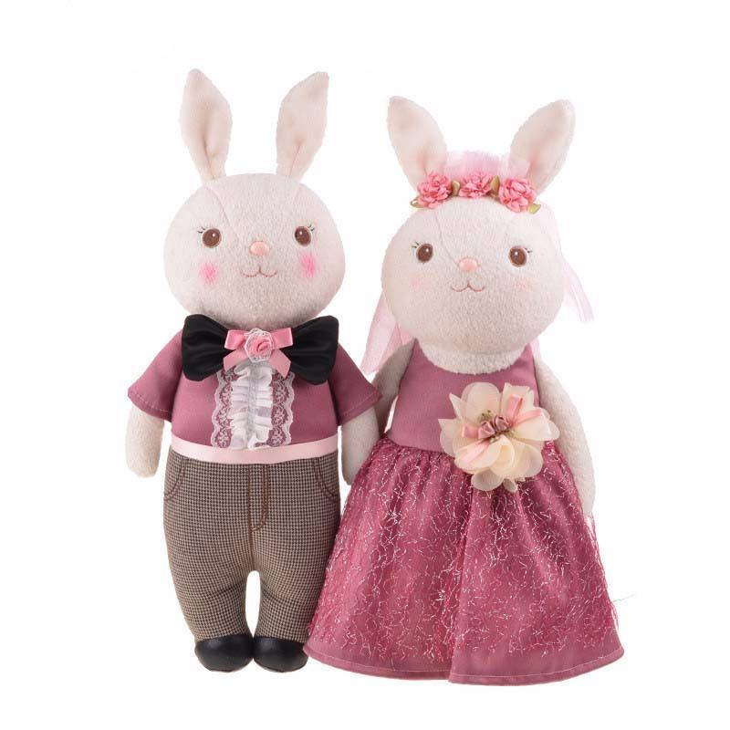 Toys For The Honeymoon : Wedding gift for bride friend rabbit doll stuffed