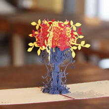 Load image into Gallery viewer, Bouquet Flower 3D Pop Up Greeting Card & Invitation (Papercraft Gift) - CHARMERRY