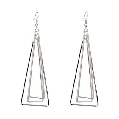 Triangle Geo Statement Earring