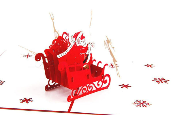 Christmas Card /X'mas Greeting Card /Holiday Invitation Card