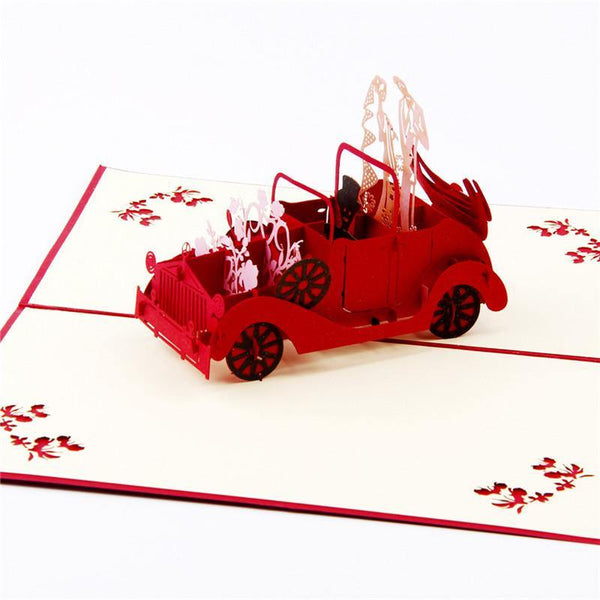 Engagement & Wedding Card (3D Pop Up Greeting Card & Invitation Card)