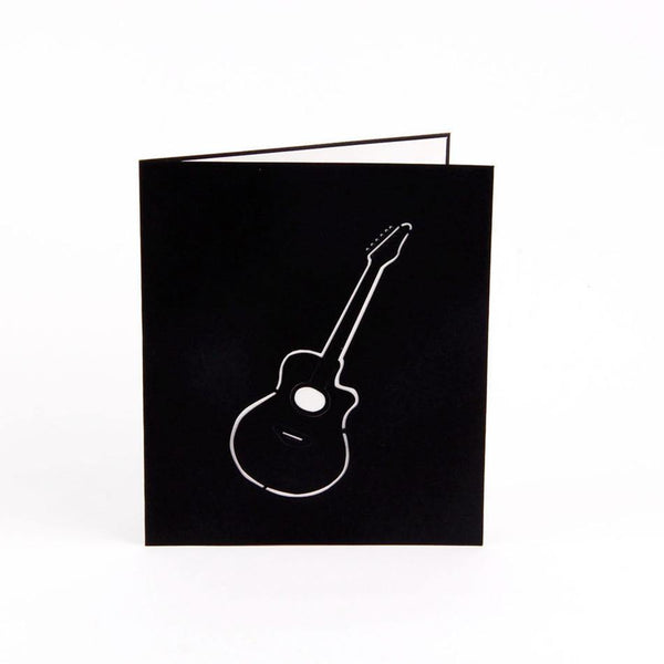 Guitar Birthday Card &Greeting Card (Rocker /Musician /Country Singer)