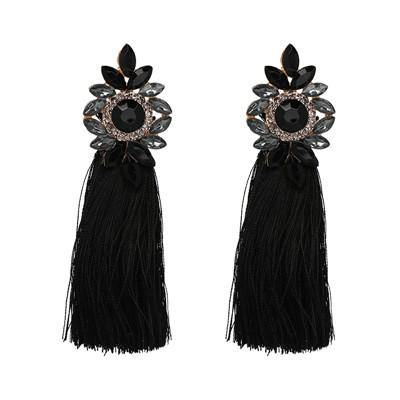 Fancy Tassel Bohemian Statement Earrings (9 Colors)