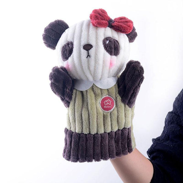 "Panda Hand Puppet (Stuffed Panda /Plush Panda /Animal Panda Toy Gift)[10"" /25cm]"