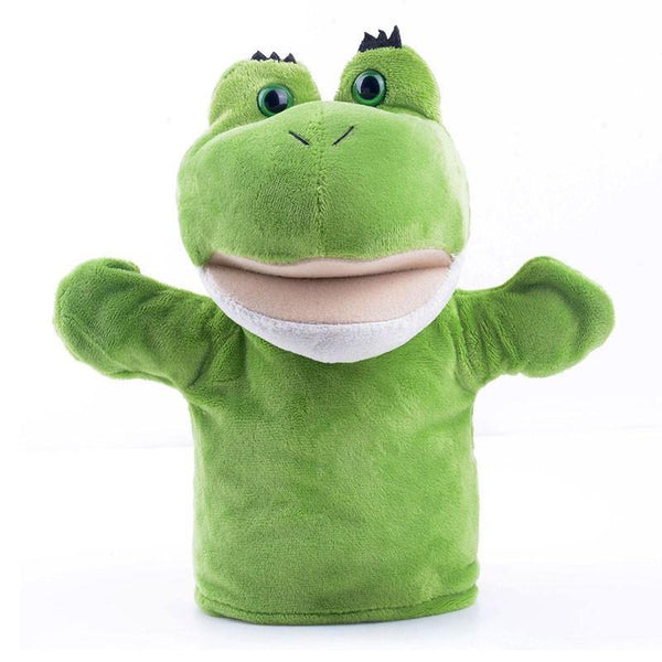 "Frog Hand Puppet (Stuffed Frog Toy /Plush Frog Gift for Baby Kid Child)[7.8"" /20cm]"