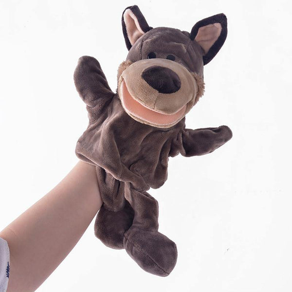 "Wolf Hand Puppet (Stuffed Wolf Toy /Plush Wolf Gift for Baby Kid Child)[7.8"" /20cm]"