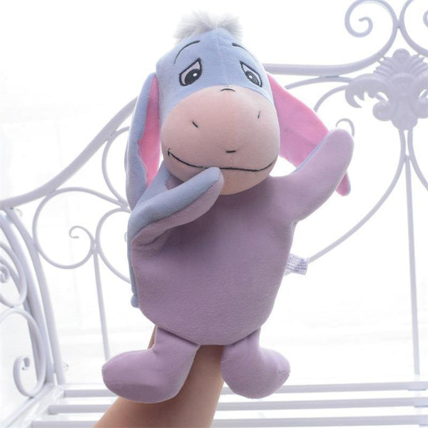 "Donkey Hand Puppet (Stuffed Donkey /Plush Donkey Doll /Animal Toy Gift)[10"" /25cm]"