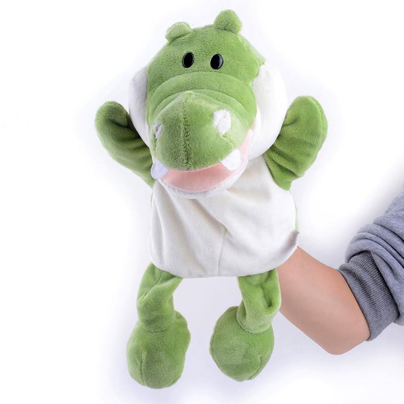 "Crocodile Hand Puppet (Stuffed Crocodile Toy /Plush Crocodile Gift)[10"" /25cm]"