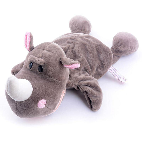 "Rhinoceros Hand Puppet (Stuffed Rhinoceros Toy /Plush Rhinoceros Gift)[10"" /25cm]"