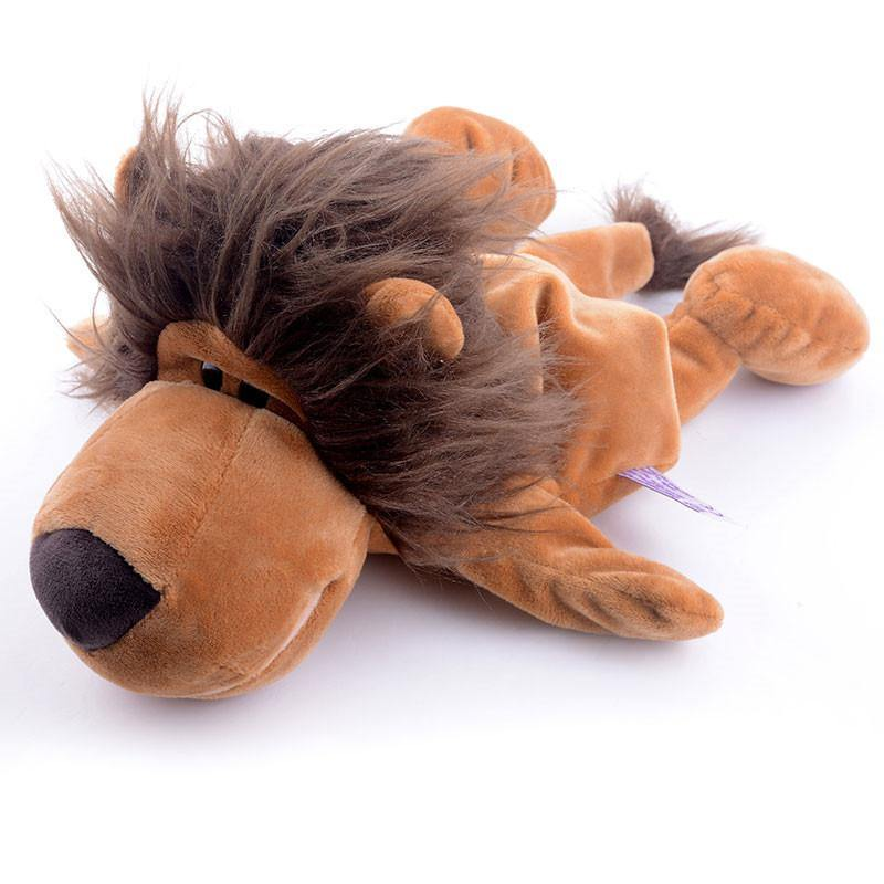"Lion Hand Puppet (Stuffed Lion King /Plush Lion /Animal Lion Toy Gift)[10"" /25cm]"