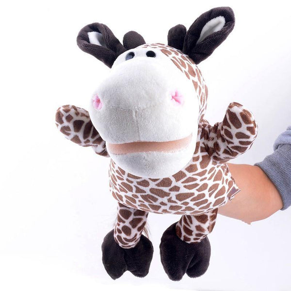 "Giraffe Hand Puppet (Stuffed Giraffe Learning Toy /Plush Giraffe Gift)[10"" /25cm]"