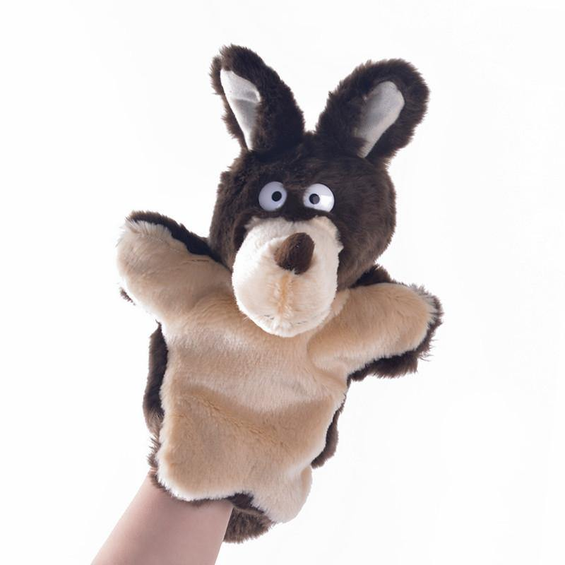 "Wolf Hand Puppet for Baby Kid Child (Stuffed Wolf Toy/Plush Wolf Gift)[10"" /25cm]"